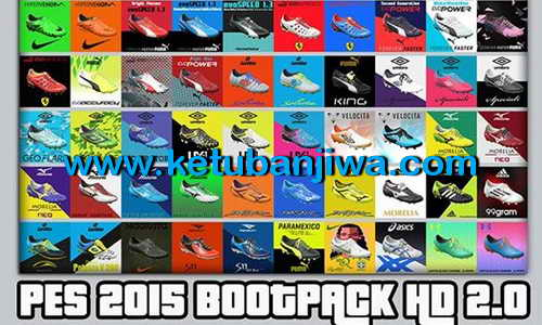 PES 2015 HD Bootpack 2.0 by Wens