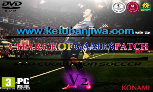 PES 2015 ChargeofGames Patch v2 Single Link Ketuban Jiwa