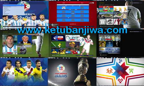 PES 2015 Copa America Chile 2015 Patch v1.0 by Sepahan-Pc Ketuban Jiwa