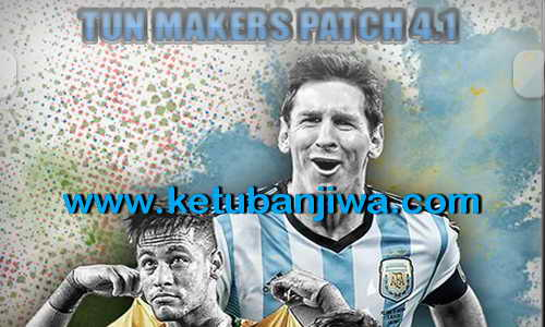 PES 2015 Tun Makers Patch 4.1 Update Single Link