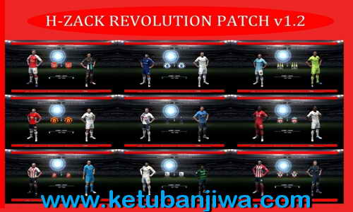 PES 2012 H-Zack Revolution Patch v1.2 Update New Season 2015-2016 Ketuban Jiwa