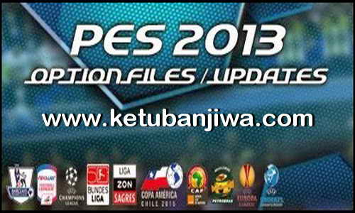 PES 2013 Option File Update 24 July 2015 by Aburame9 Ketuban jiwa