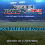 PES 2013 PeSBoX Anatolia Patch v7.0 Season 2015/2016