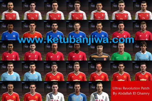 PES 2013 Ultras Revolution Patch New Season 2015-2016 Single Link by Abdallah El Ghamry SS3