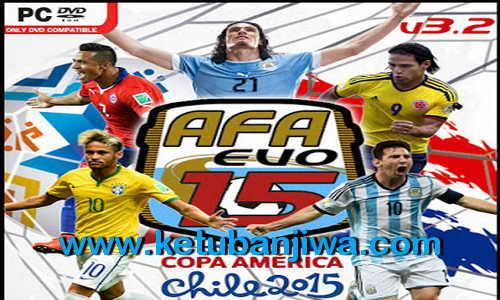PES 2015 AFA Evo15 Patch v3.2 Fix Update 29 July 15 Ketuban Jiwa