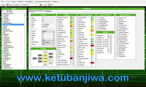 PES 2015 Editor Tools Alpha v0.1 by Ejogc327 Ketuban Jiwa