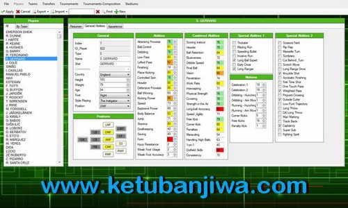PES 2015 Editor Tools Alpha v0.2 by Ejogc327 Ketuban Jiwa