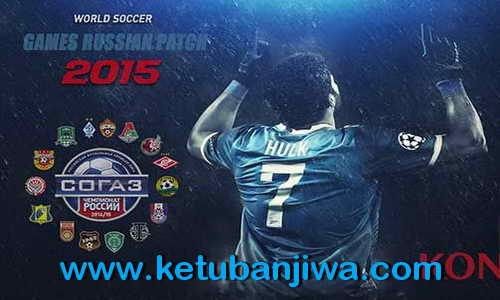 PES 2015 GRP Games Russian Patch v5.0 New Season 15/16