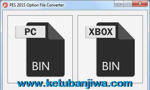 PES 2015 Option File Converter Tool PC to XBOX v1.0 Ketuban Jiwa