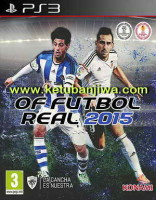 PES 2015 PS3 Option File Futbol Real Beta 3.3 by Manelinho Transfer Update 28 July 2015 Ketuban Jiwa