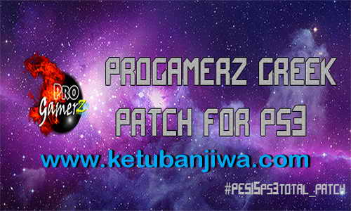 PES 2015 PS3 ProGamerZ Greek Total Patch v2 Summer Update