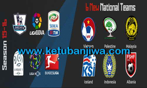 PES 2015 PTE Patch 8.0 Single Link AIO Season 15-16 Ketuban Jiwa