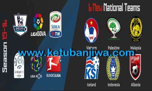 PES 2015 PTE Patch 8.0 Single Link AIO Season 15-16 Ketuban Jiwa