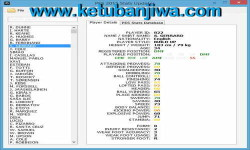 PES 2015 Stats Updater Tools Version 1.8 by Rasuna Ketuban Jiwa