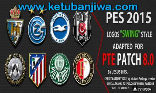 PES 2015 Swing Logos Style For PTE Patch 8.0 by Jesus Hrs Ketuban Jiwa