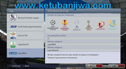 PES 2015 VirtuaRED Patch Version 1.0 For PC Ketuban Jiwa SS2