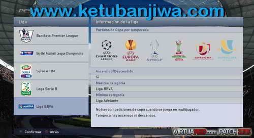 PES 2015 VirtuaRED Patch Version 1.0 For PC Ketuban Jiwa SS2