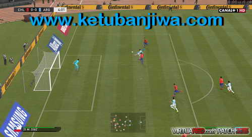 PES 2015 VirtuaRED Patch Version 1.0 For PC Ketuban Jiwa SS3