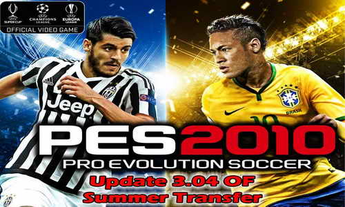 PES 2010 PESEdit Style v3.04 The Return Update Summer Transfer 2015 Ketuban Jiwa