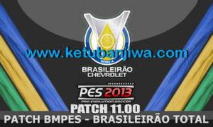 PES 2013 BMPES Patch Update 11.00 + 11.01 Brasileirão