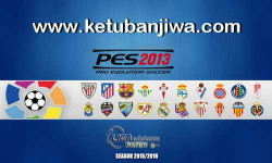 PES 2013 Liga Adelante Patch Season 2015-2016 Single Link Ketuban Jiwa