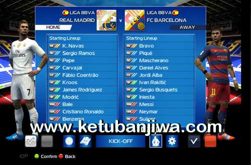 PES 2013 Liga Adelante Patch Season 2015-2016 Single Link Ketuban Jiwa SS1