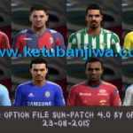 PES 2013 Option File Sun Patch 4.0 Update 23.08.2015