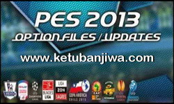 PES 2013 Option File Update 02 August 2015 by Aburame9 For PESEdit 6.0 Ketuban jiwa