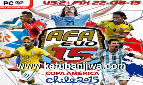 PES 2015 AFA Evo15 Patch v3.2 + Fix Update 22.08.2015