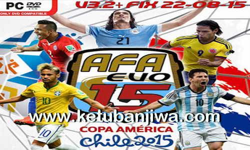 PES 2015 AFA Evo15 Patch v3.2 + Fix Update 22 August 2015 Ketuban Jiwa