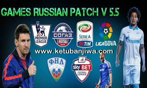 PES 2015 GRP Games Russian Patch v5.5 Transfer Update