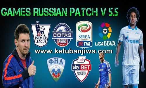 PES 2015 GRP Games Russian Patch v5.5 Transfer Update 20 August 2015 Ketuban Jiwa