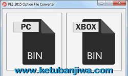 PES 2015 Option File Converter PC or XBOX v1.1 by Rasuna Ketuban Jiwa