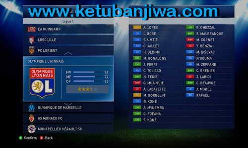 PES 2015 Option File Update 08 August 2015 For PTE Patch 8.2 by Madn11 Ketuban Jiwa