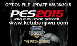 PES 2015 Option File Update 25 August 2015 For PESGalaxy 4.50 by Merdo Ketuban Jiwa