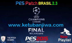 PES 2015 PES Patch Brasil 2.3 Final Update by Estarlen Silva Ketuban Jiwa