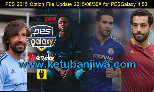 PES 2015 PESGalaxy 4.50 Option File Update 30.08.15