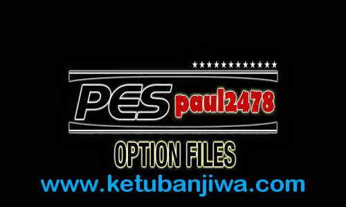 PES 2015 PS3 Option File v10 Update 08.08.15 by Paul2478 Ketuban Jiwa