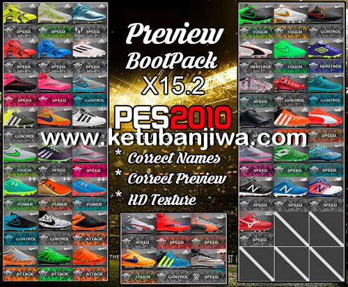 PES 2010 HD Bootpack Update X15.2 by PESEdit Style