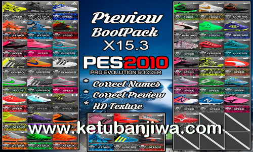 PES 2010 HD Bootpack Update X15.3 by PESEdit Style Ketuban Jiwa