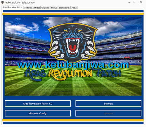 PES 2013 Arab Revolution Patch v1.0 Season 2015-2016 Single Link Ketuban Jiwa SS1