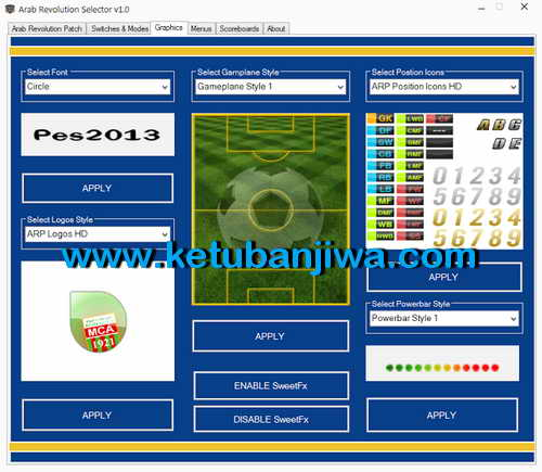 PES 2013 Arab Revolution Patch v1.0 Season 2015-2016 Single Link Ketuban Jiwa SS3
