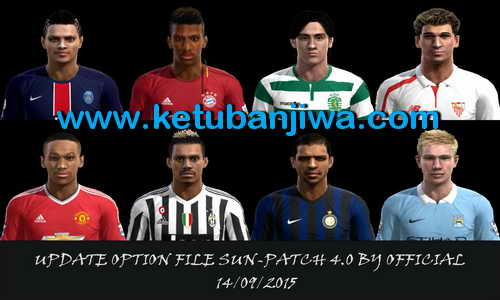 PES 2013 Option File Sun Patch 4.0 Update 14 September 2015 Ketuban Jiwa