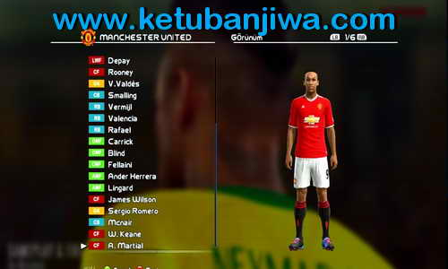 PES 2013 Option File Update 01 September 2015 by Ferhat Sarkin Ketuban Jiwa