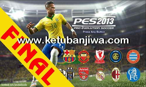 PES 2013 PESEdit 8.1 Final Update by PESModStudio