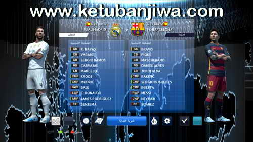 PES 2013 Stars SPecialize Team Patch Season 2015-2016 Ketuban Jiwa SS3