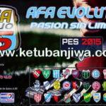 PES 2015 AFA Evo15 Patch v4 Final Version