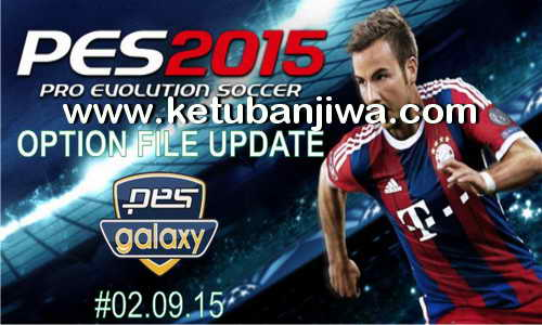 PES 2015 Option File PESGalaxy 4.50 Final Update 02.09.15