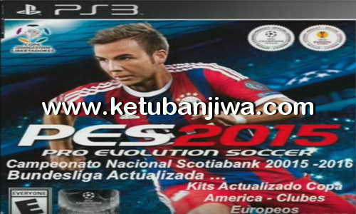PES 2015 PS3 Full Option File Liga Chilena Season 2015-2016 BLUS Ketuban Jiwa