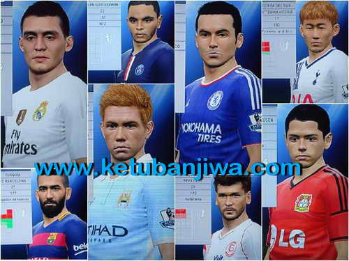 PES 2015 PS3 Option File Update Glatiatore v7.0 BLUS Ketuban Jiwa